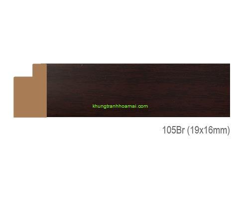 Mẫu khung tranh Khung hình tự chọn thương hiệu phào nẹp Hao Mai mã 105BR