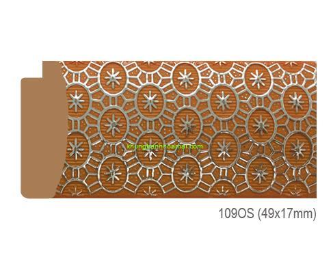 Mẫu khung tranh Khung hình tự chọn thương hiệu phào nẹp Hoa Mai mã 109OS