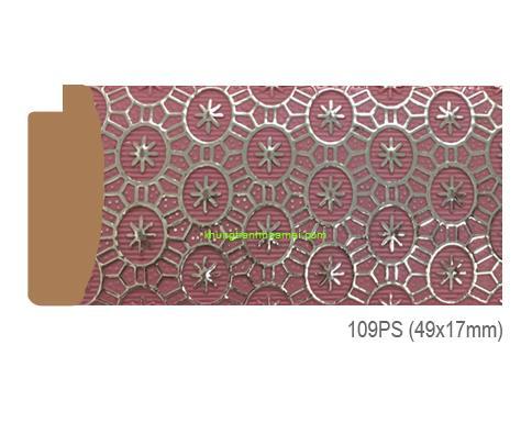 Mẫu khung tranh Khung hình tự chọn thương hiệu phào nẹp Hoa Mai mã 109PS