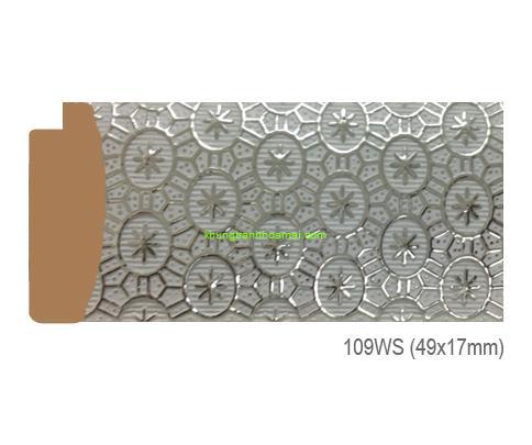 Mẫu khung tranh Khung hình tự chọn thương hiệu phào nẹp Hoa Mai mã 109WS