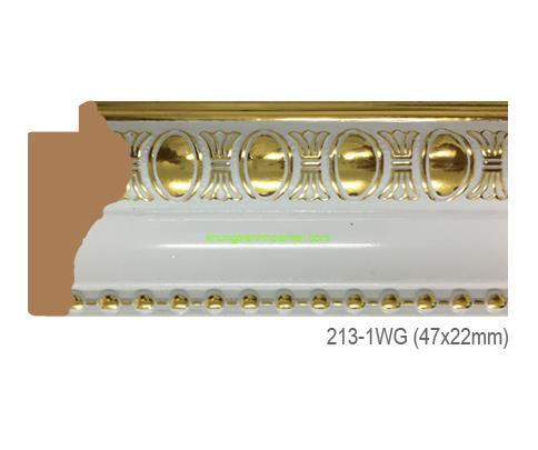 Mẫu khung tranh Khung hình tự chọn thương hiệu phào nẹp Hoa Mai mã 213-1WG