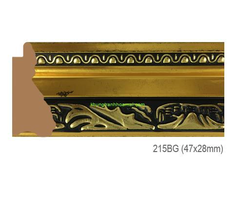 Mẫu khung tranh Khung hình tự chọn thương hiệu phào nẹp Hoa Mai mã 215BG