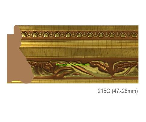 Mẫu khung tranh Khung hình tự chọn thương hiệu phào nẹp Hoa Mai mã 215G