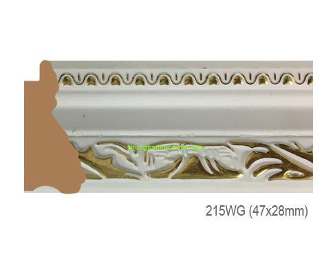 Mẫu khung tranh Khung hình tự chọn thương hiệu phào nẹp Hoa Mai mã 215WG