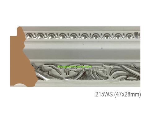 Mẫu khung tranh Khung hình tự chọn thương hiệu phào nẹp Hoa Mai mã 215WS