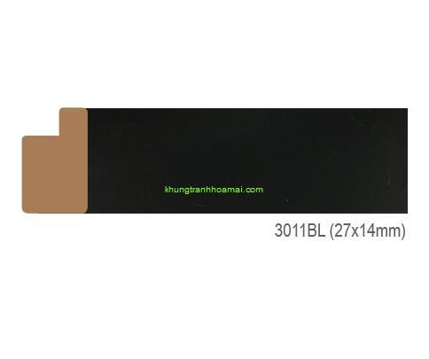 Khung hình tự chọn thương hiệu phào nẹp Hoa Mai mã 3011BL
