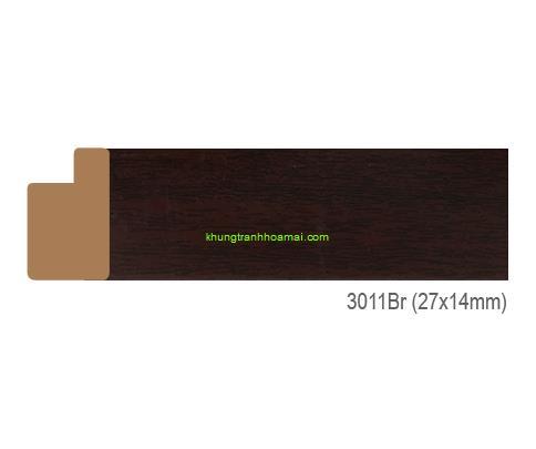 Khung hình tự chọn thương hiệu phào nẹp Hoa Mai mã 3011BR
