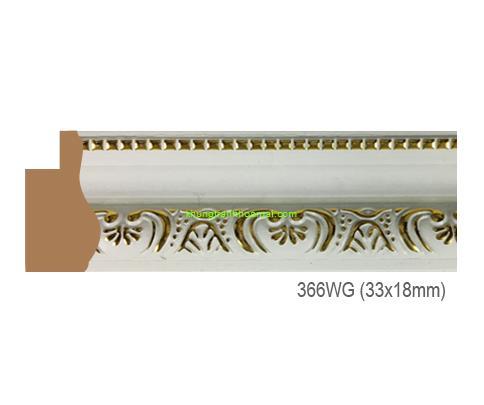 Mẫu khung tranh Khung hình tự chọn thương hiệu phào nẹp Hoa Mai mã 366WG
