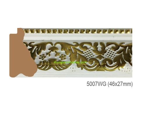 Khung hình tự chọn thương hiệu phào nẹp Hoa Mai mã 5007WG