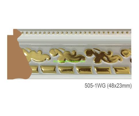 Mẫu khung tranh Khung hình tự chọn thương hiệu phào nẹp Hoa Mai mã505-1WG