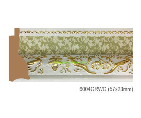 Mẫu khung tranh Khung hình tự chọn thương hiệu phào nẹp Hoa Mai mã 6004GRWG